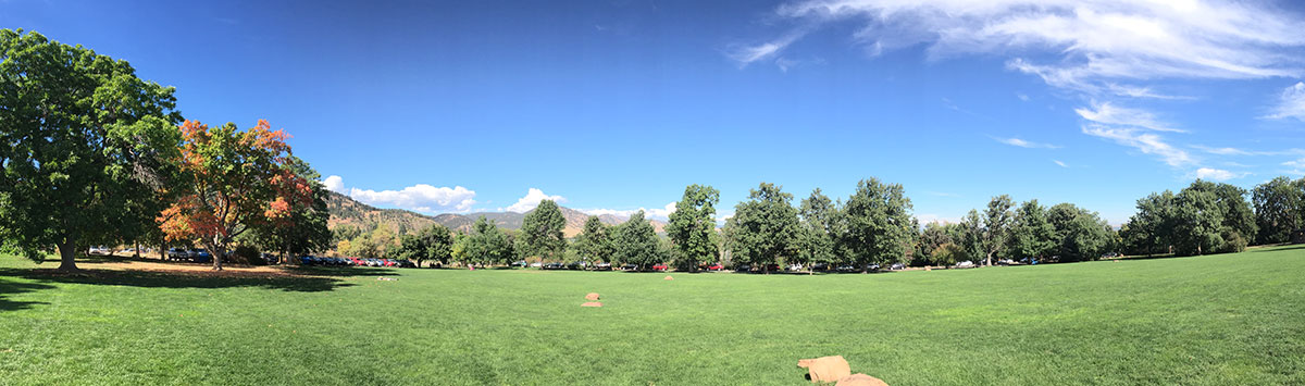 Gorgeous day in Boulder