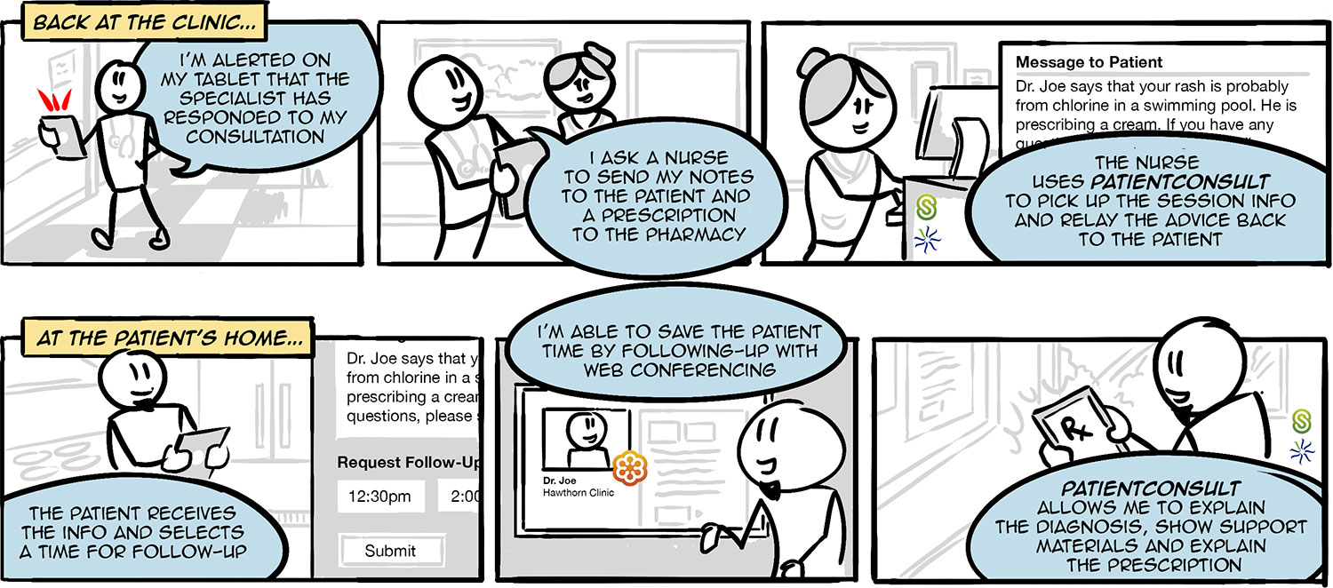 PatientConsult Storyboard