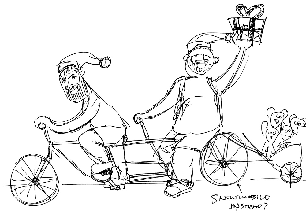 Tandem bike composition thumbnail